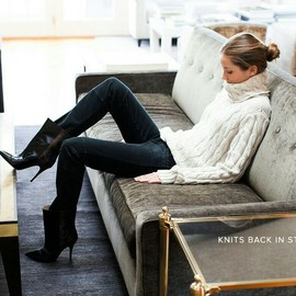 Simply Chic, Stiletto Boots, Sweater Winter/Fall Fashion