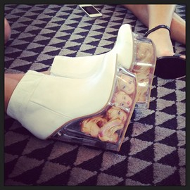 JEFFREY CAMPBELL - icy wedges