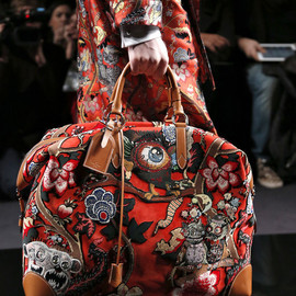 LOUIS VUITTON, Jake and Dinos Chapman - AW 2013 Jake and Dinos Chapman bag