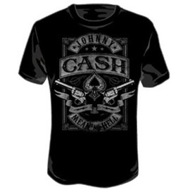 JOHNNY CASH / MEAN AS HELL / T-Shirts Tシャツ ジョニー・キャッシュ