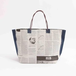 NEWSED - News paper bag (denimtoto )