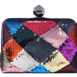 Roger Vivier - FW2014 Sequined Box Clutch