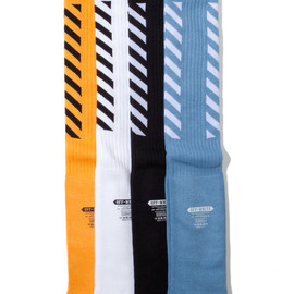 OFF-WHITE - Striped Socks