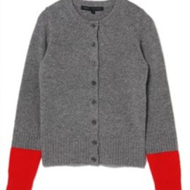 MARC BY MARC JACOBS - ARIANA SWEATER CARDIGAN / グレー