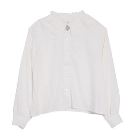 Honey mi Honey - Pleats collar blouse