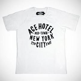 Ace Hotel - close-up photo of the College Tee