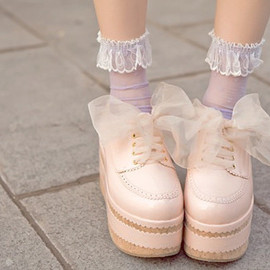 Peachy-beige shoes