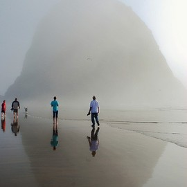 oregon coast - haystack rock