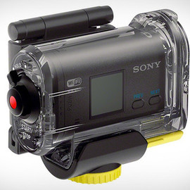 SONY - Sony Action Cam with waterproof case