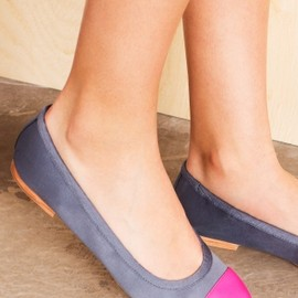 & OTHER STORIES - BALLERINAS W/ CONTRASTING TOE