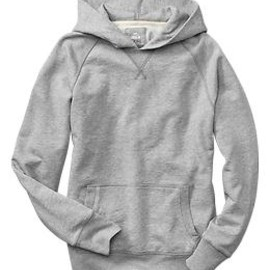 GAP - Lived-in raglan hoodie(light heather grey)