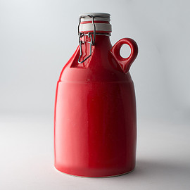 Portland Growler Company - The Loop | Gloss Red | 64 oz