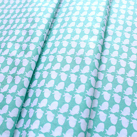 Art Gallery Fabrics - Curiosities Curious Bunnies Calm