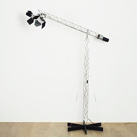 Curtis Jere - Crane Lamp by Curtis Jere