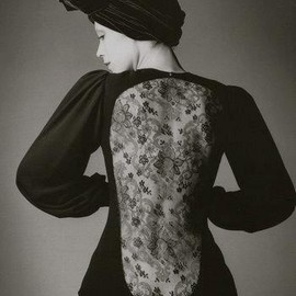 Jeanloup Sieff - Robe d'Yves Saint Laurent, Vogue, Paris