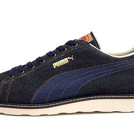 Puma - FIRST ROUND LO DENIM 「made in JAPAN」 「LIMITED EDITION」
