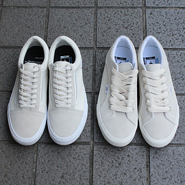 "MINNANO - VINCENT SHOELACE for MIN-NANO ""BIGBOY"" WHITE."