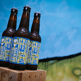 BREWDOG - HELLO MY NAME IS LITTLE INGRID CLOUDBERRY SESSION IPA