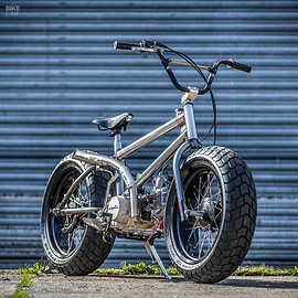 Down & Out BMX - Fat Tracker / motorized bicycle