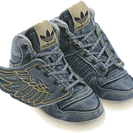 adidas, Jeremy Scott  - JS WING DENIM KID