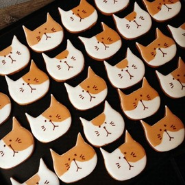 SAC about cookies - japanese cat cookies