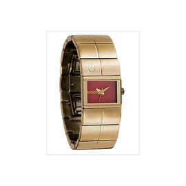 NIXON - THE COUGAR / ANTIQUE GOLD RED