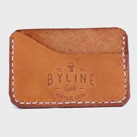BYLINE SUPPLY CO. - The Speakeasy Leather Wallet
