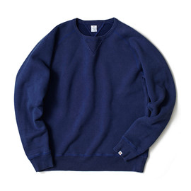 HEAD PORTER PLUS - INDIGO SWEAT SHIRT