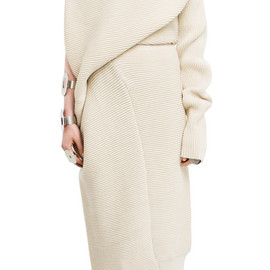 Acne Studios - Gala dress white