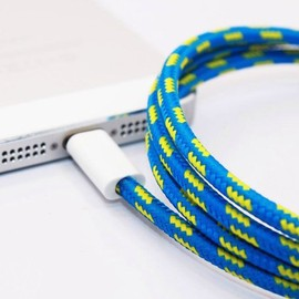 iPhone5 - Lightning Cross Stripe Collective Cable