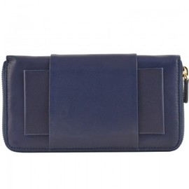 AVRIL GAU - big navy and gold lambskin