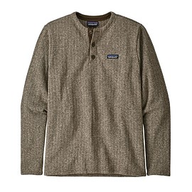 patagonia - M's Better Sweater® Henley Pullover, Pale Khaki Rib Knit (PKRK)
