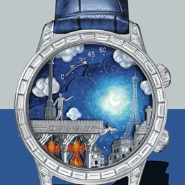 Van Cleef & Arpels - Midnight Poetic Wish Watch