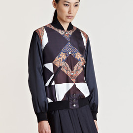 GIVENCHY - Givenchy Women's Patterned Bomber Jacket