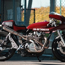 "YAMAHA - The An-Bu XS750 Monster and its ""tale on the tail""..."