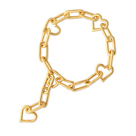 Chigo - Open Heart Chain Bracelet
