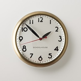 SCHOOLHOUSE - Kennedy Clock