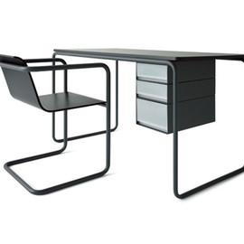 MUJI - desk & chair by THONET