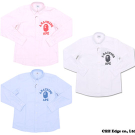 A BATHING APE - COLLEGE OXFORD BD SH