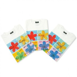 Gallery1950 - Regular Tee -FLOWER COLORS-