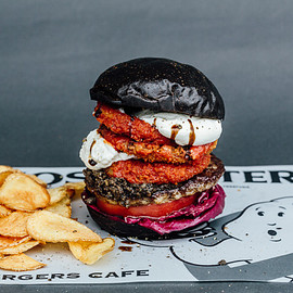 J.S. BURGERS CAFE, GHOST BUSTERS - G.B.バーガー