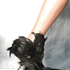 Vicente Rey - Feathers shoes