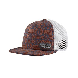 patagonia - Duckbill Trucker Hat, Protected Peaks: Stone Blue (PPSE)