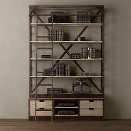 Restoration Hardware - 1950s Dutch Shipyard Shelving