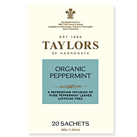 TAYLORS OF HARROGATE - Organic Peppermint
