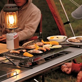 Vsnowpeak - Awesome grill! (obviously, not UL) (but perfect for the next family camping trip).
