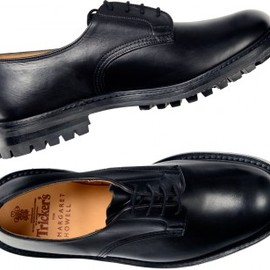 MARGARET HOWELL - Tricker's×Margaret Howell  Military Derby Shoes