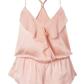 FOREVER21 - Flounced Sleep Romper
