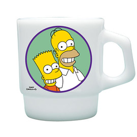 FIRE KING - The Simpsons Stacking Mug