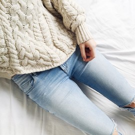 isabel Marant - knit_denim/style